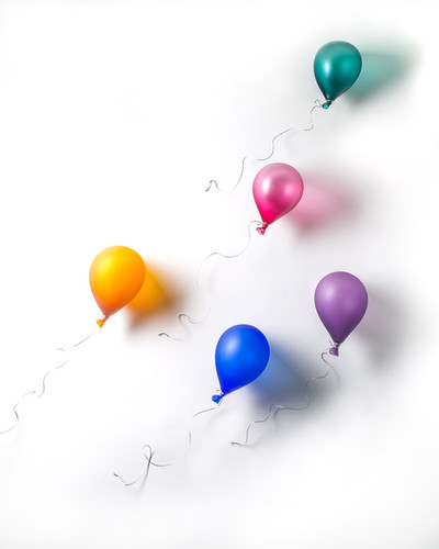 Floating Balloons- Group of 5