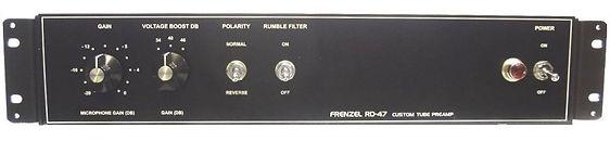 FRENZEL RD-47  MICROPHONE TUBE PREAMP