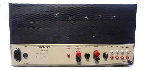 Frenzel SS-4772 Super Sfereo Rear Panel