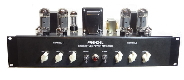 Frenzel SPX3030 Rack Mount Stereo Tube Amplifier