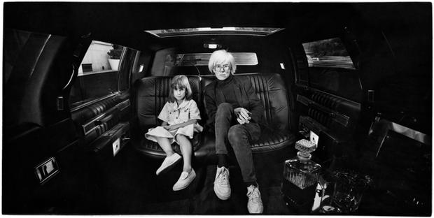 USA. New York City. 1986. Andy Warhol.