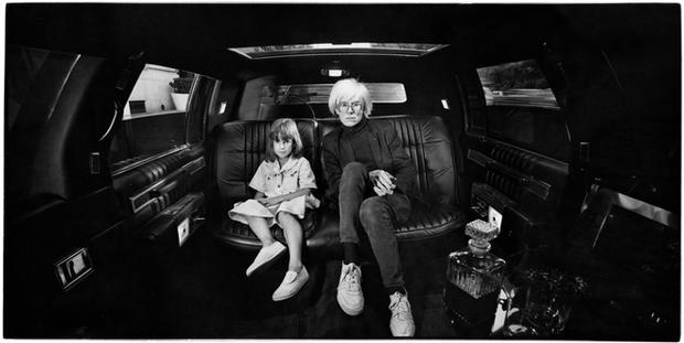 USA. New York City. 1986. Andy Warhol.