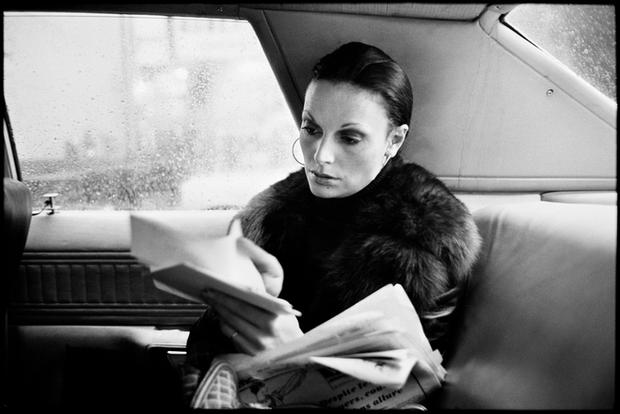 USA. New York City. 1976. Diane von Furstenberg.