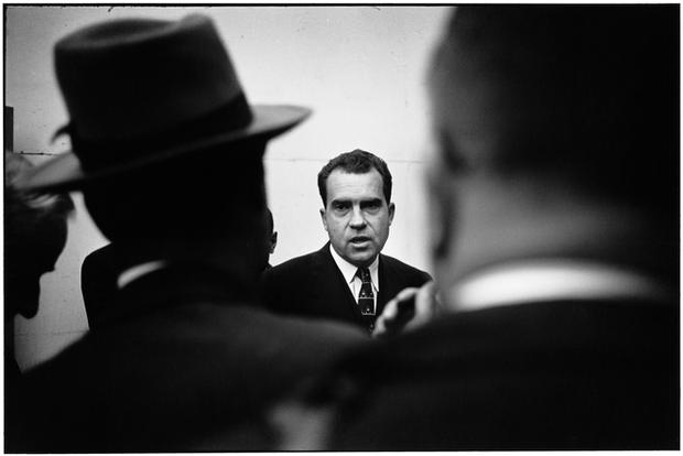 USA. Washington, D.C. 1955. Richard Nixon.