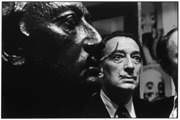 USA. New York City. 1963. Salvador Dali.