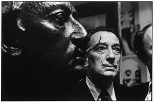 USA. New York City. 1963. Salvador Dali.