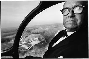 USA. Ohio. 1959. Buckminister Fuller.
