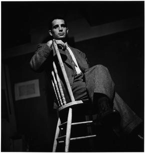 USA. New York City. 1953. Jack Kerouac.