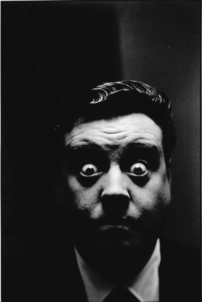 USA. New York. 1954. Jackie Gleason.