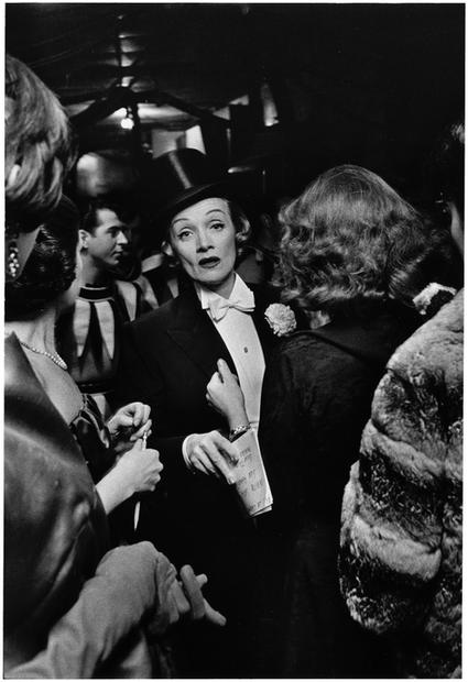 USA. New York City. 1959. Marlene Dietrich.