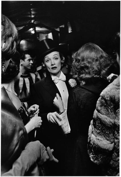 USA. New York City. 1959. Marlene Dietrich.