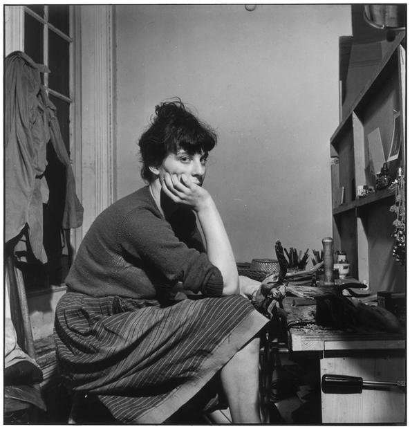 USA. New York. 1953. Mary Frank.