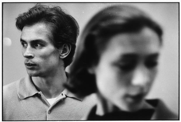 USA. New York City. 1963. Rudolf Nureyev.