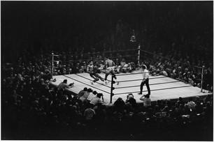 USA. New York City. March 8, 1971. Muhammad Ali and Joe Frazier.