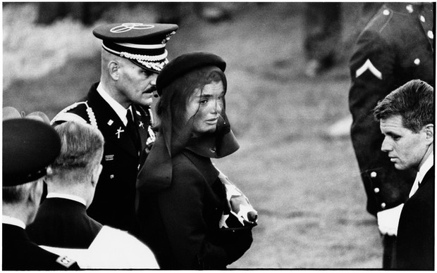 USA. Arlington, Virginia. November 25, 1963. Jacqueline Kennedy.