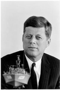 USA. Washington, D.C. 1961. John F. Kennedy.
