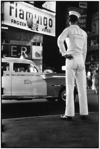 USA. Times Square, New York City. 1950.
