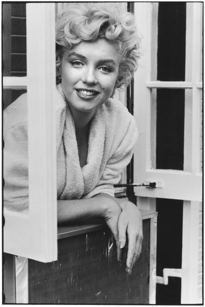USA. New York. 1954. Marilyn Monroe.