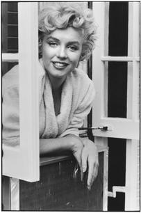USA. New York. 1954. Marilyn Monroe.