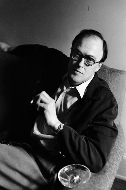 USA. New York. 1953. Roald Dahl.
