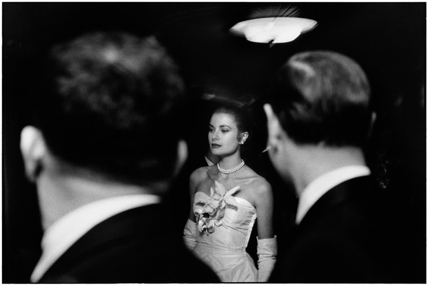 USA. New York City. January, 1956. Grace Kelly.