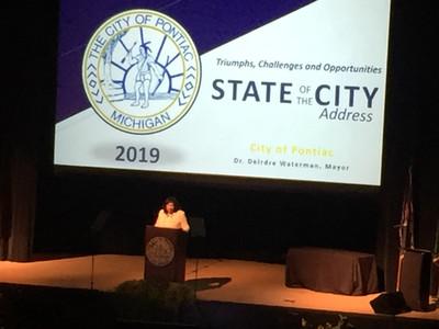 2019 State of the City Address - Pontiac