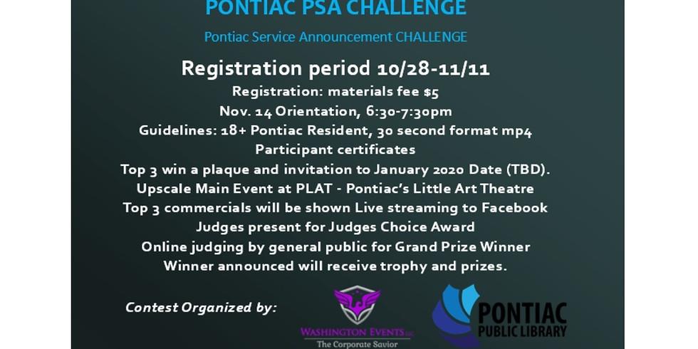 PONTIAC PSA #30DAY CHALLENGE