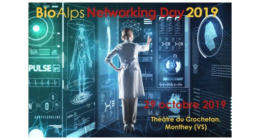 Neurix participated at Bioalps Networking days