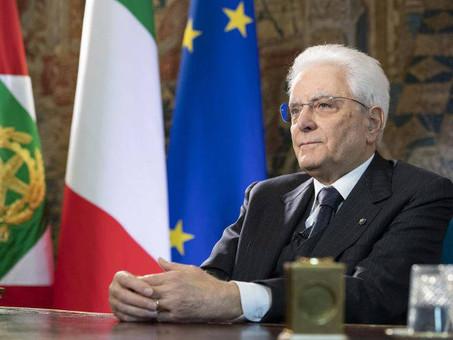 Il Presidente Mattarella dedica un messaggio agli italiani all'estero