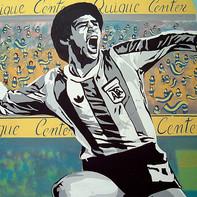 El saludo a Maradona, el duelo de toda una ciudad