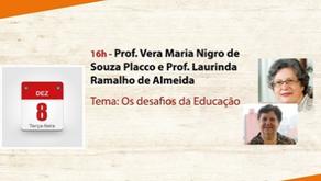 1a Bienal Virtual do Livro - Profas. Vera Placco e Laurinda