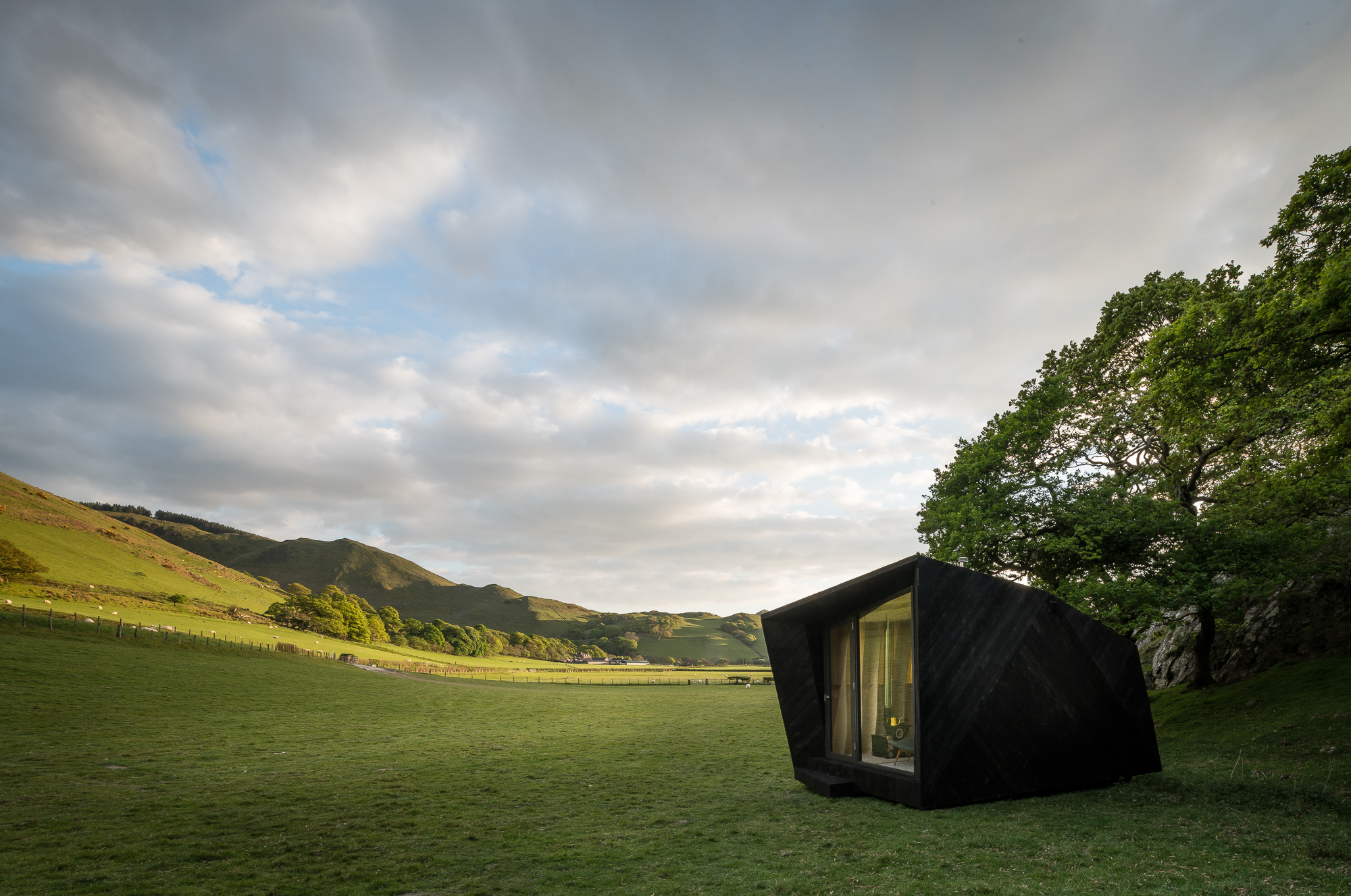Pop-up Hotel, Castell Y Bere, Wales