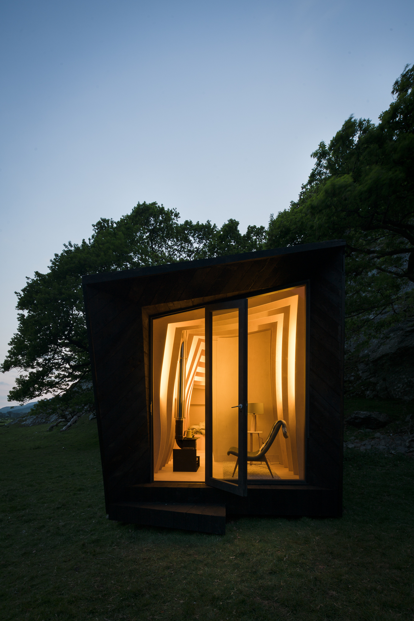 Pop-up Hotel by Miller Kendrick Architects
