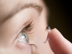 lente a contatto morbide