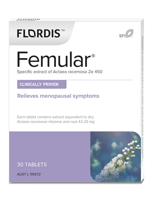 Flordis Femular  for Menopause Relief 30 tablets