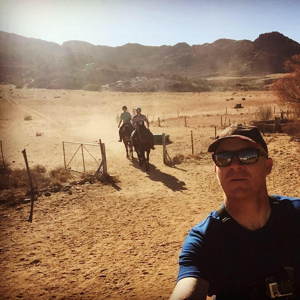 Horse riding Springbok