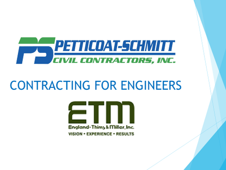 Over 40 attend Contracting for Engineers at the office of ETM.