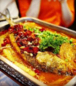 Poisson roti, restaurant chinois à paris, le pont de sichuan