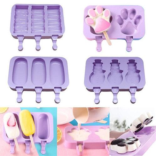 Kids Silicone Ice Cream Mold