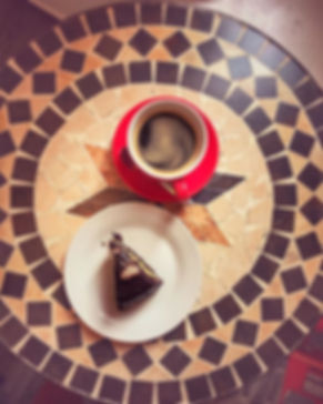 Coffee and Cake for break_ #coffee #pure