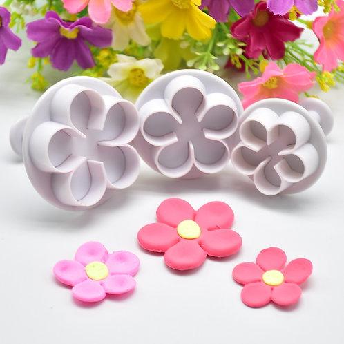 Flower Plunger Cookie Cutter