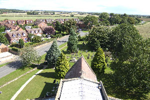 View of Lower Quinton from Church