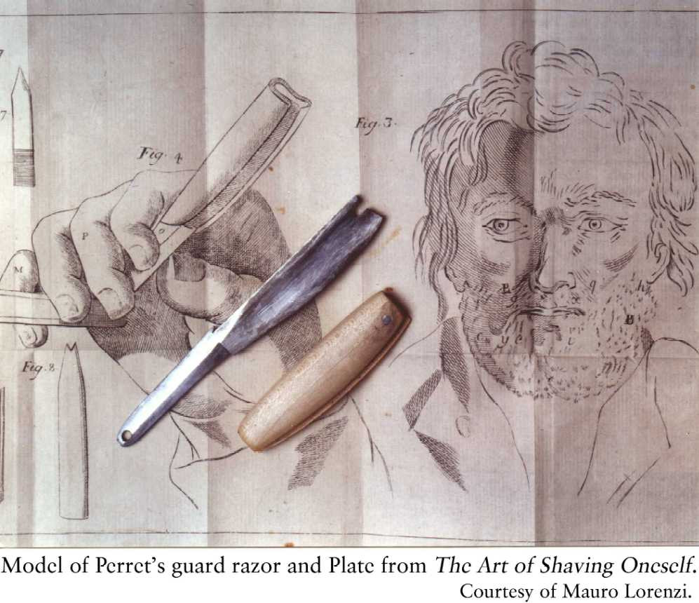 Perret-first shaving tool