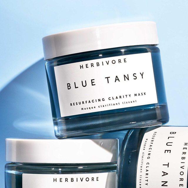 blue tansy resurfacing clarity mask