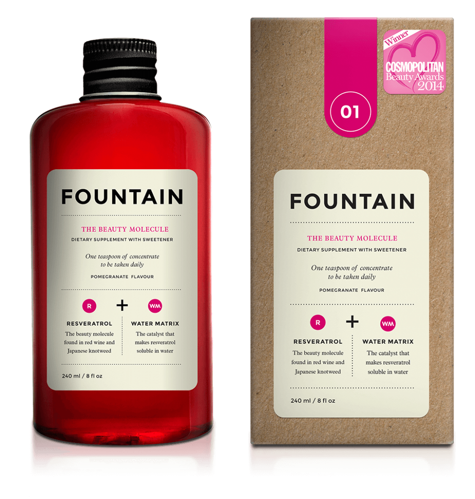 fountain the beauty molecule drink