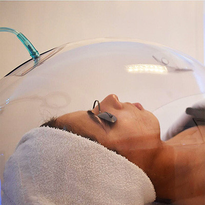 facial dome oxygen skin therapy