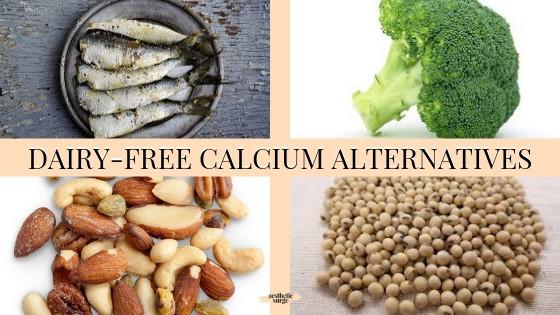 Dairy-free calcium alternatives