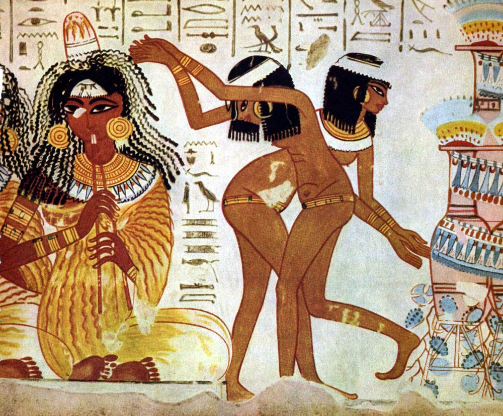 Ancient Egyptians and hair removal