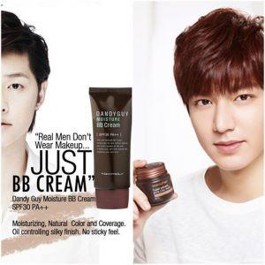 Male BB cream korean advert#