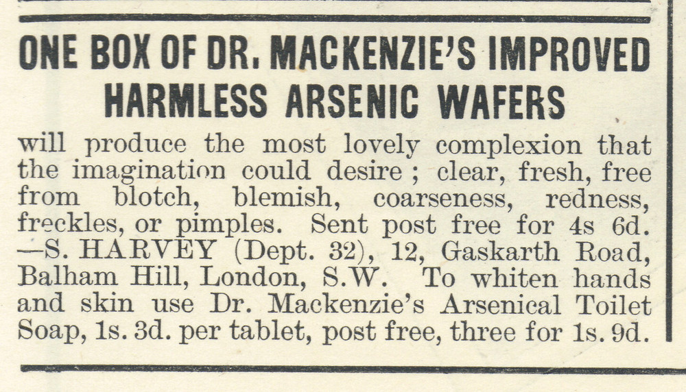 Harmless arsenic wafers